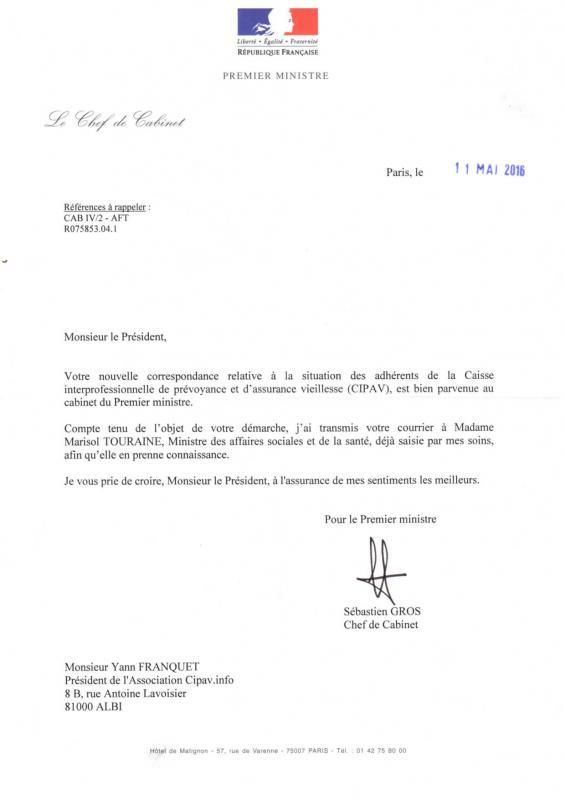 2016 05 reponse ministre et touraine