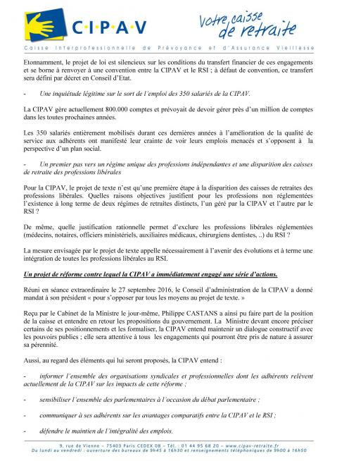 Communique de presse cipav p3