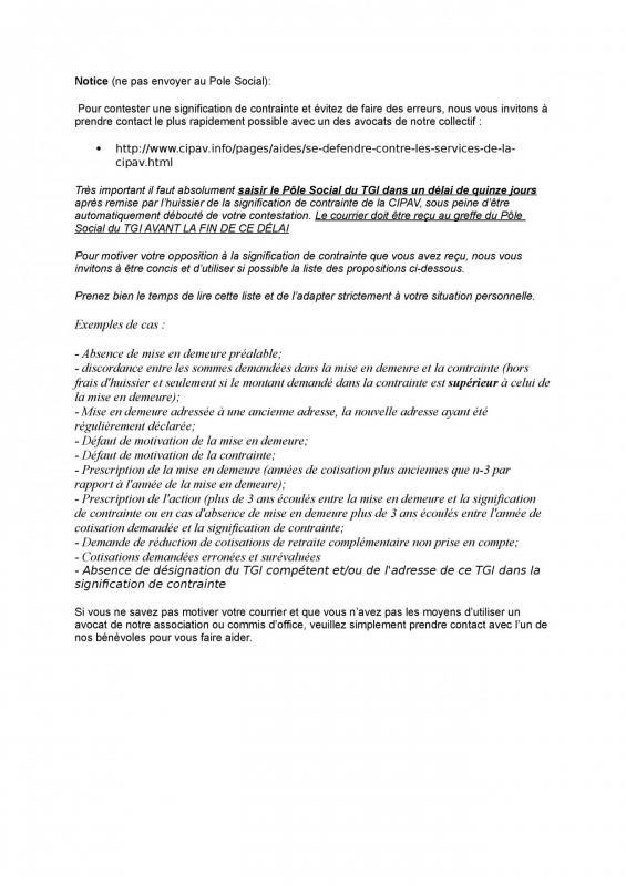 Guide Pour Faire Face à La Cipav